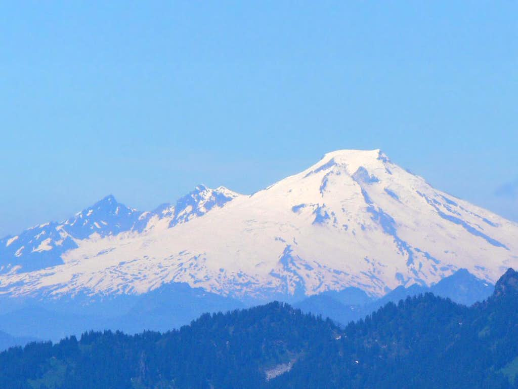 Mount Baker to the North