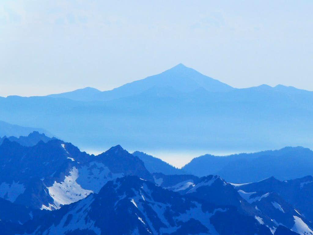 Blue Haze over the Mountains