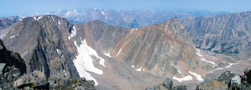 Point 12,540 summit pano