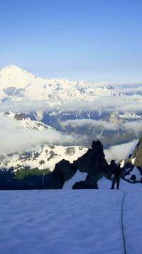 Mt. Baker on Winnie's SLide