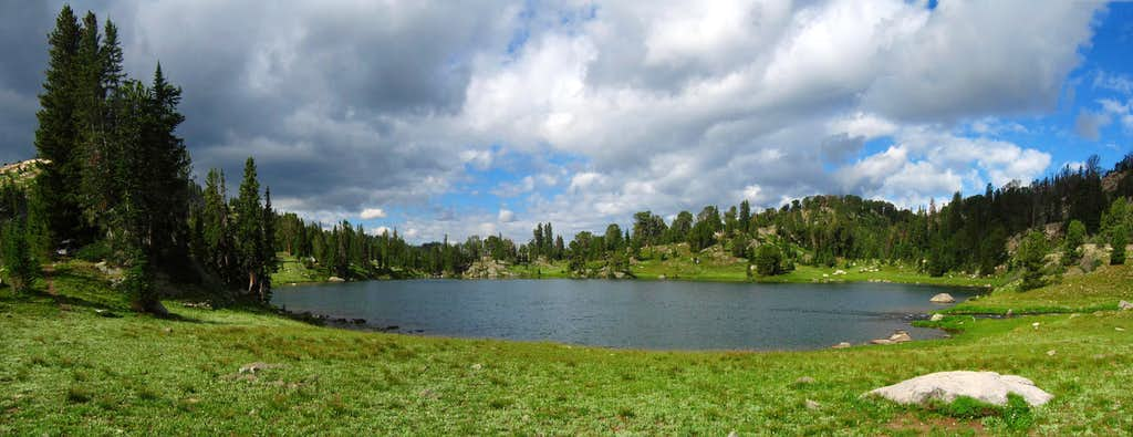 Wright Lake Panorama