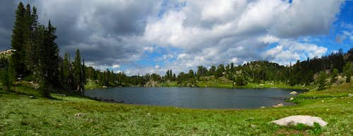 Wright Lake Panorama
