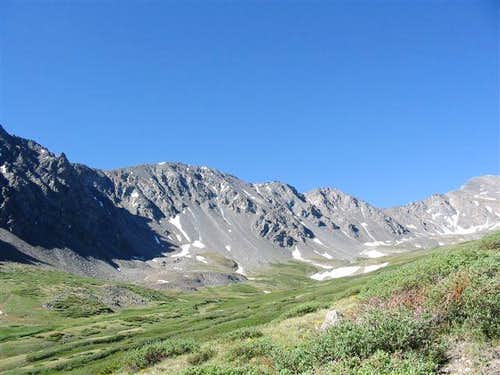 View of Stevens Gulch about a...