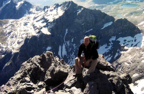 Punta Tersiva near the Summit