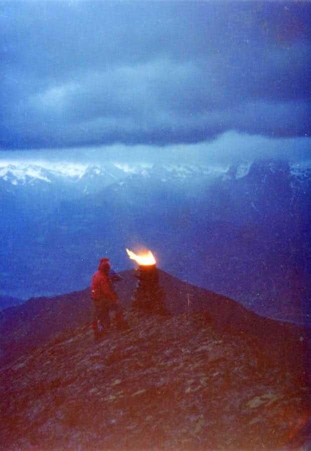 Folklore & ... Curtain: Fires on Becchi di Fana 1975