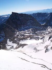 Looking towards Peak 11977...