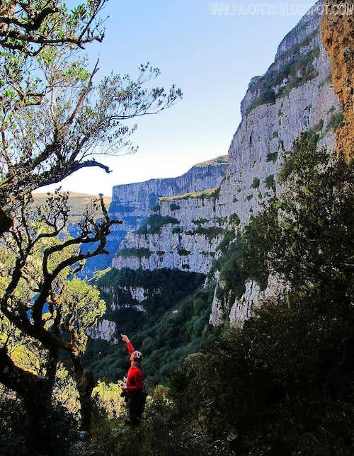 Maximo Kaush on Pedra Furada trail