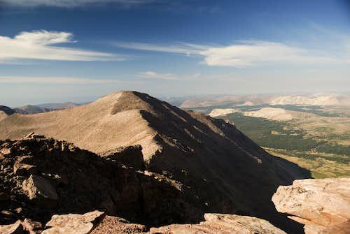 South Kings Peak from Kings Peak