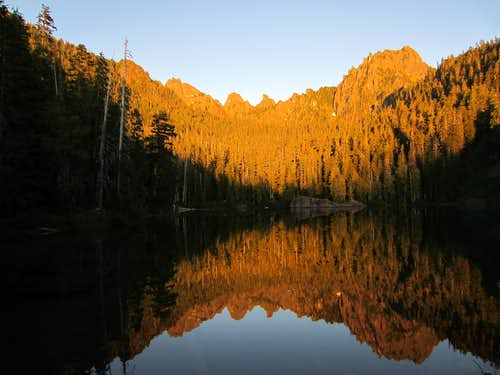 Flapjack Lakes Sunset