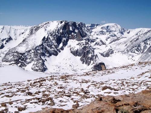 The East Face of Beartooth...