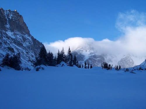 Snowcover in the Black Canyon...