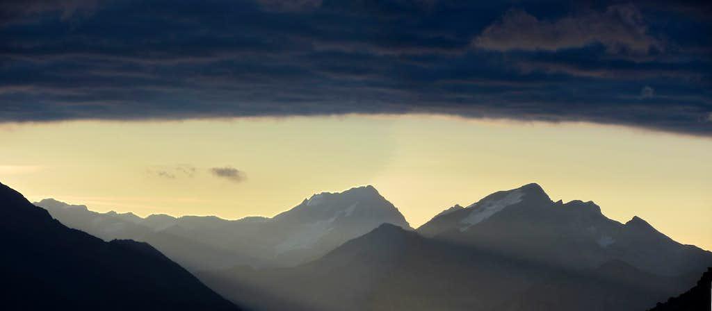 Sunrise on Hochgall