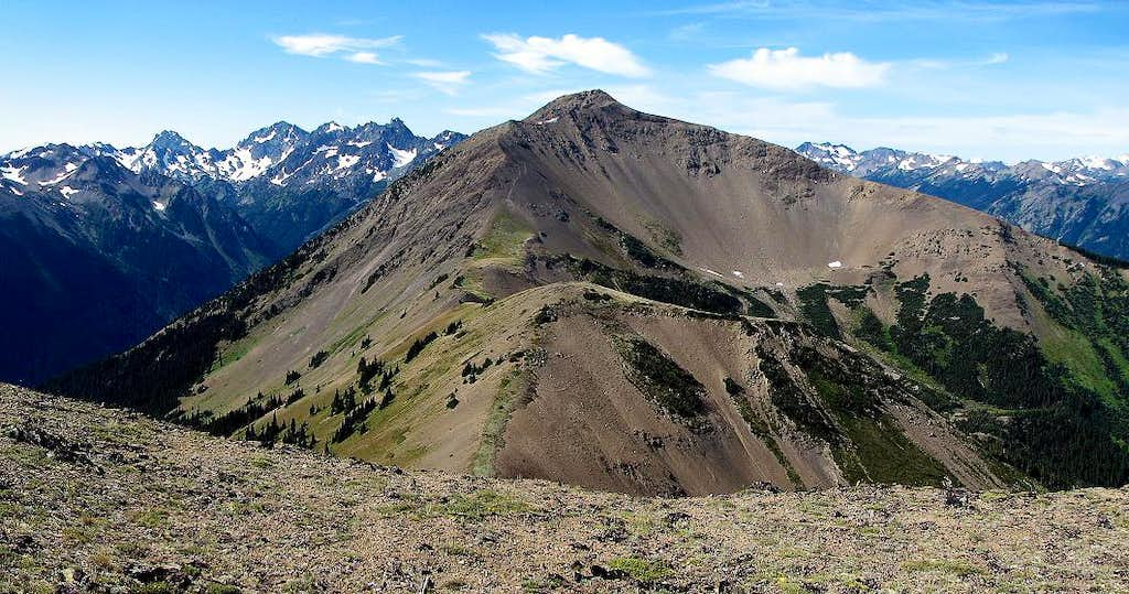 Gray Wolf Ridge Panorama from Baldy