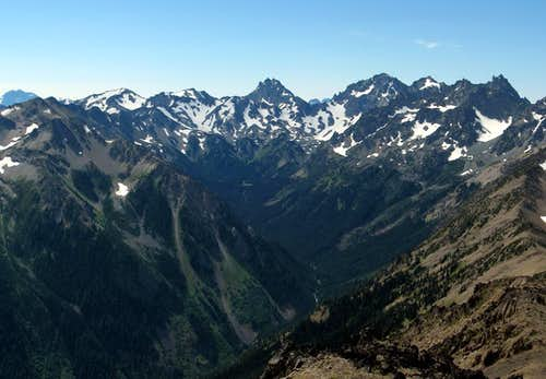 Royal Basin and Olympic Peaks