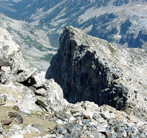 East Ridge from Buck Summit