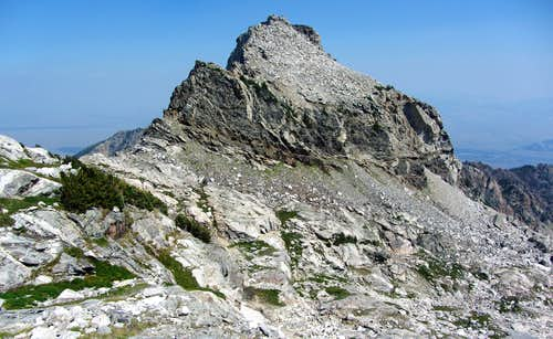 Un-named Peak East of Buck