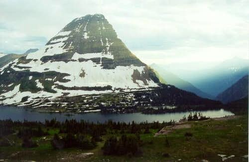 Bearhat Mt., Hidden Lake and...