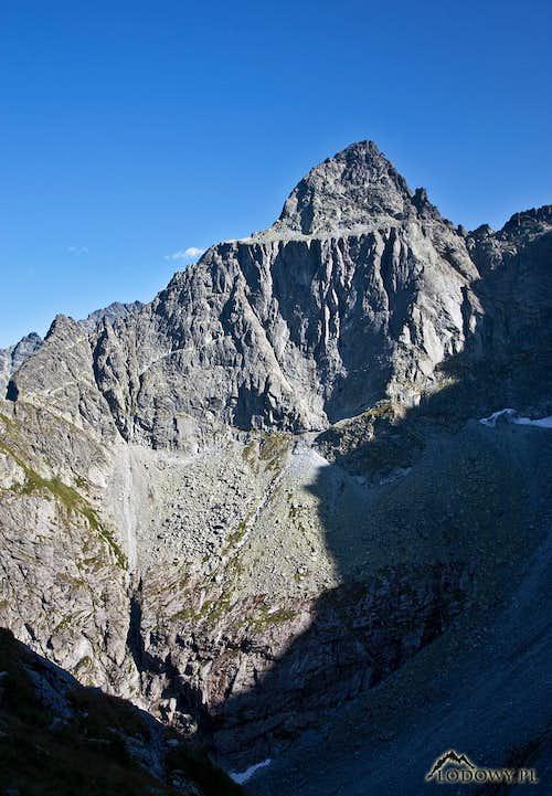 Ganek peak above Tazka valley