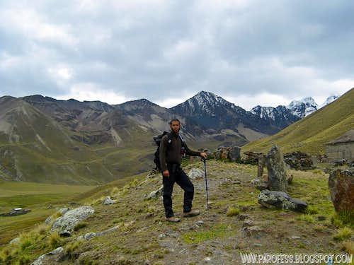 Tripod shot. Me and Austria Peak on the back