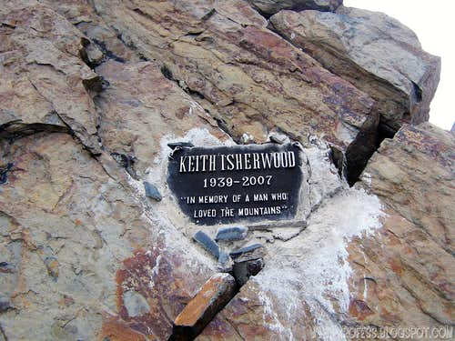 Respect to I death on the mountain.