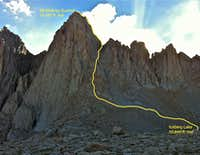 Mountaineers Route in Summer