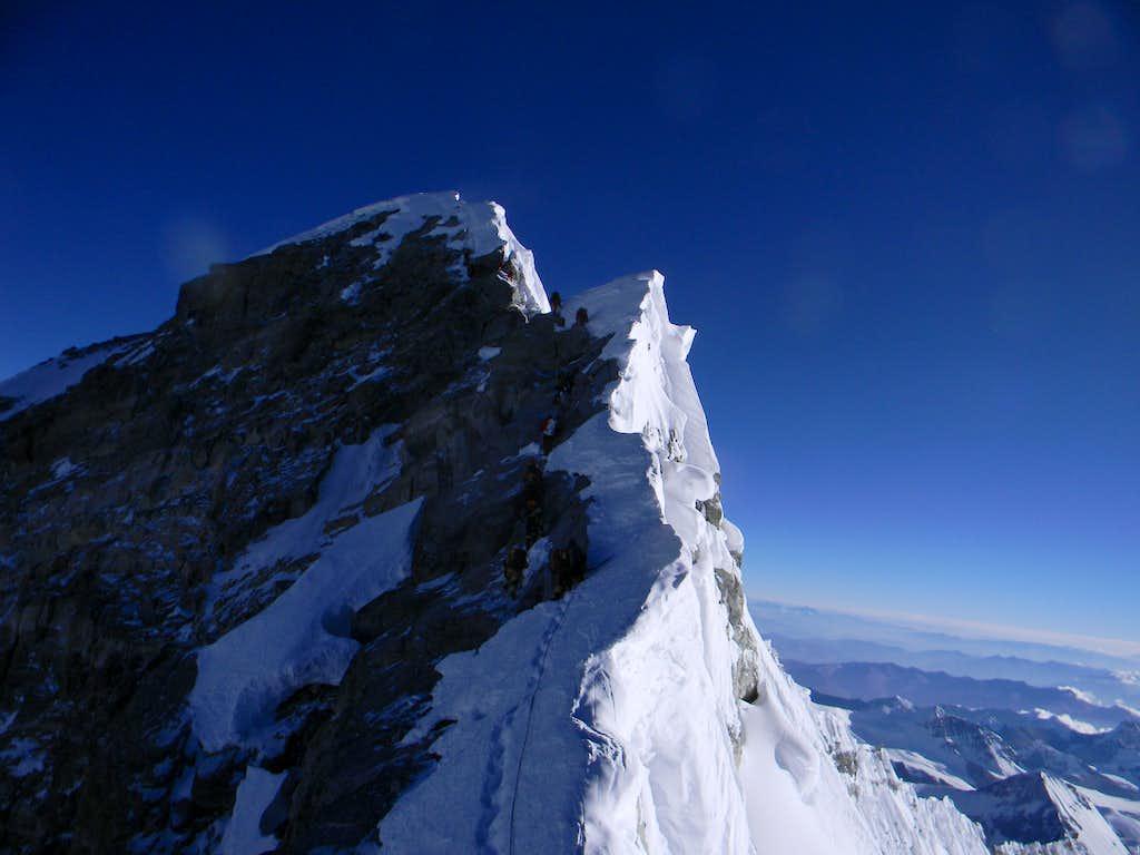 Summit Ridge of Everest