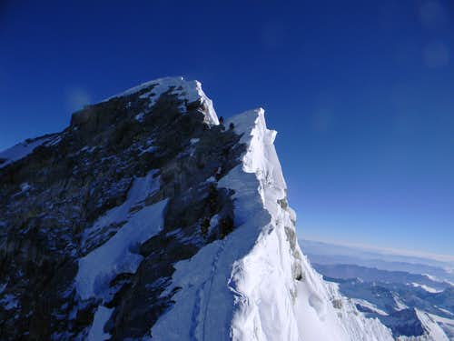 Summit Ridge of Everest