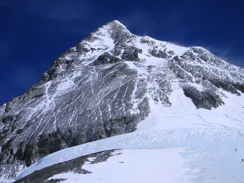 Everest from the South Col
