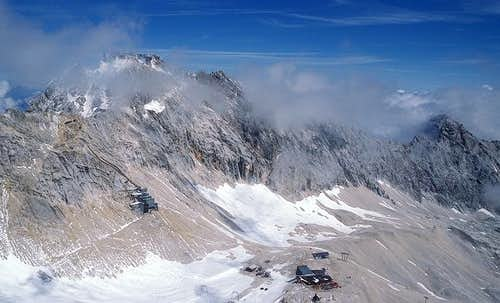 Zugspitze seen from SW from...