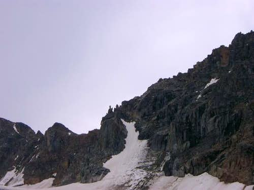 A portion of the ridge...