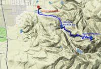 Sugarloaf Mountain Trail Map