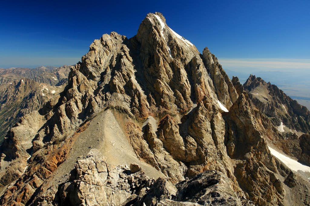 Grand Teton from summit of Middle Teton