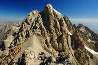 Grand Teton from summit of Middle Teton