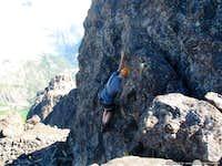 Climbing summit block