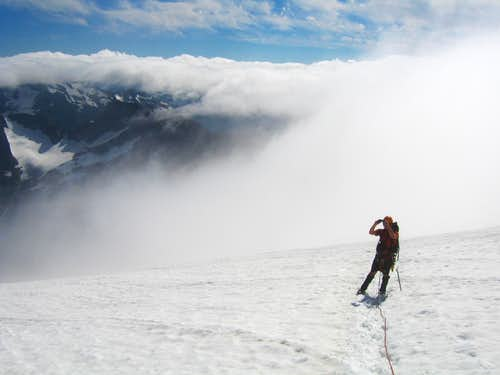 Josh on Sahale Glacier