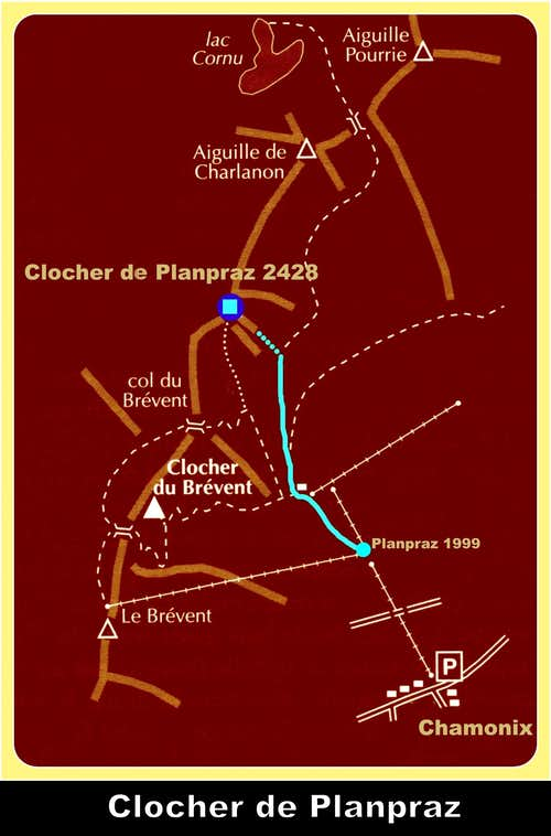 Clocher de Planpraz map