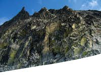 Klawatti Peak west face