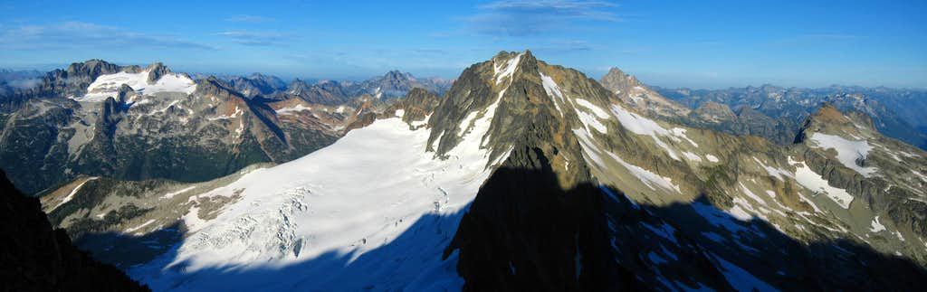 Mount Buckner from Boston Peak