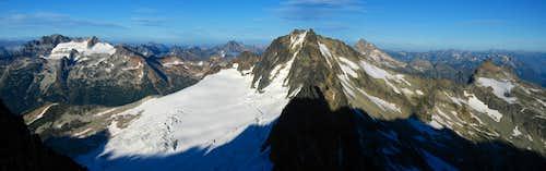 Mount Buckner panorama