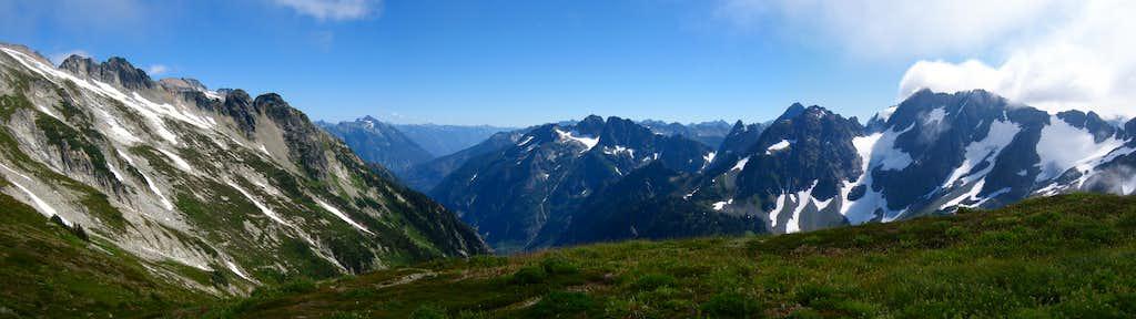 Cascade Pass panorama