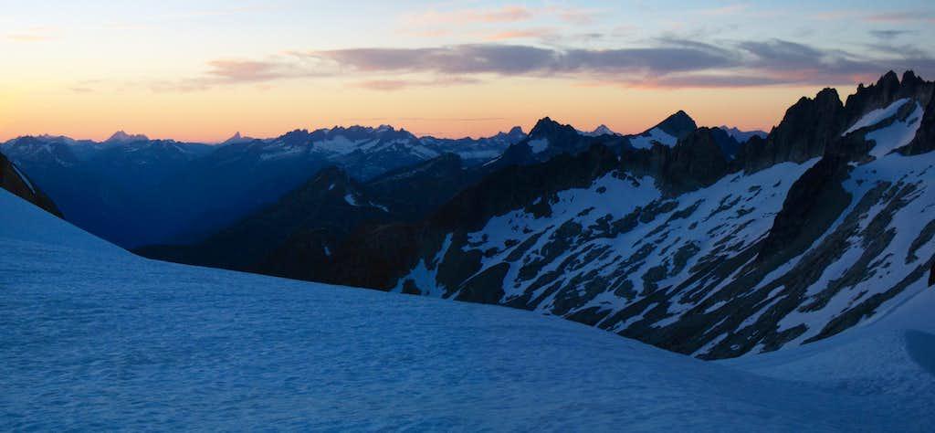 Klawatti Col Sunset