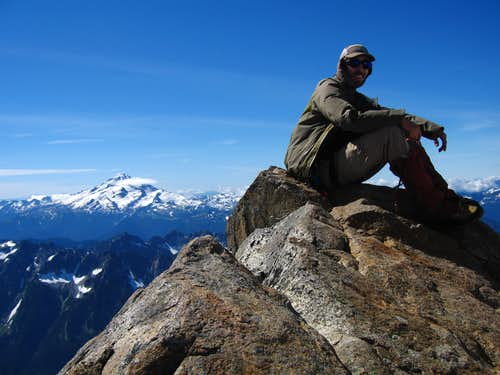 Dome Peak summit