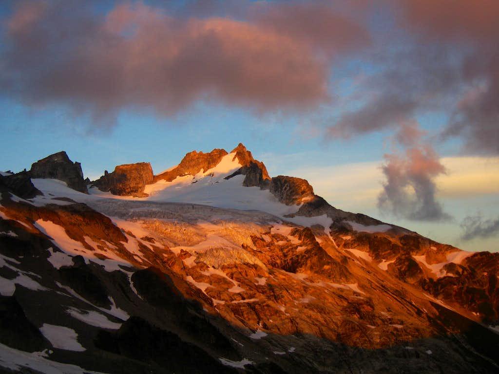 Dome Peak alpenglow