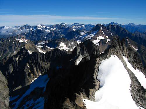 Spire Point summit viiew