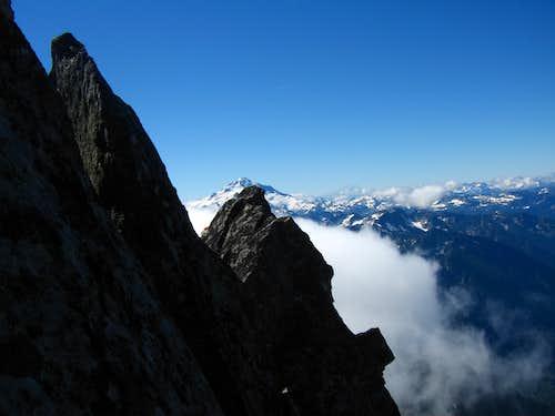 Spire Point south ridge