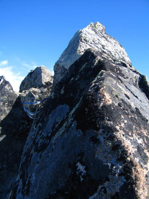 Spire Point summit area