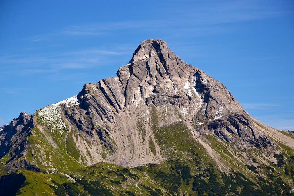 Biberkopf, 2599m, also known as Germany's southernmost peak