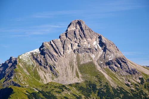 Biberkopf, 2599m, also known as Germany\'s southernmost peak