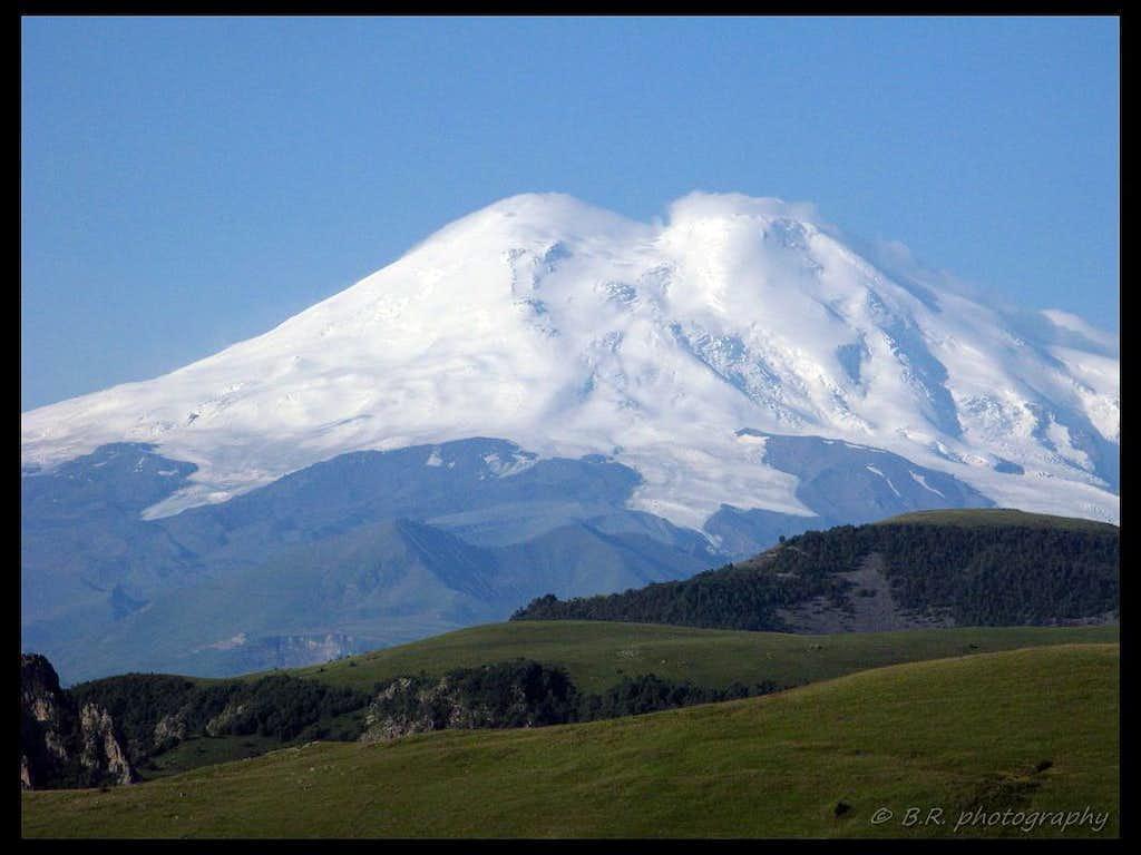 Elbrus north side