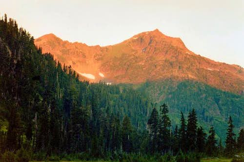 Mount Steel at sunrise from...